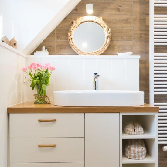 Badezimmer Kruschel Skandinavisches Design