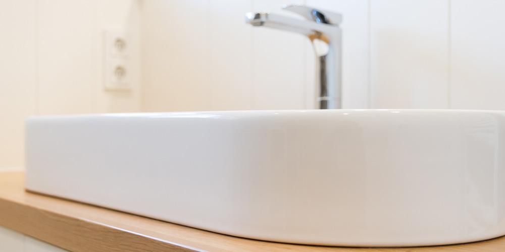 Badezimmer Kruschel Skandinavisches Design Waschtisch