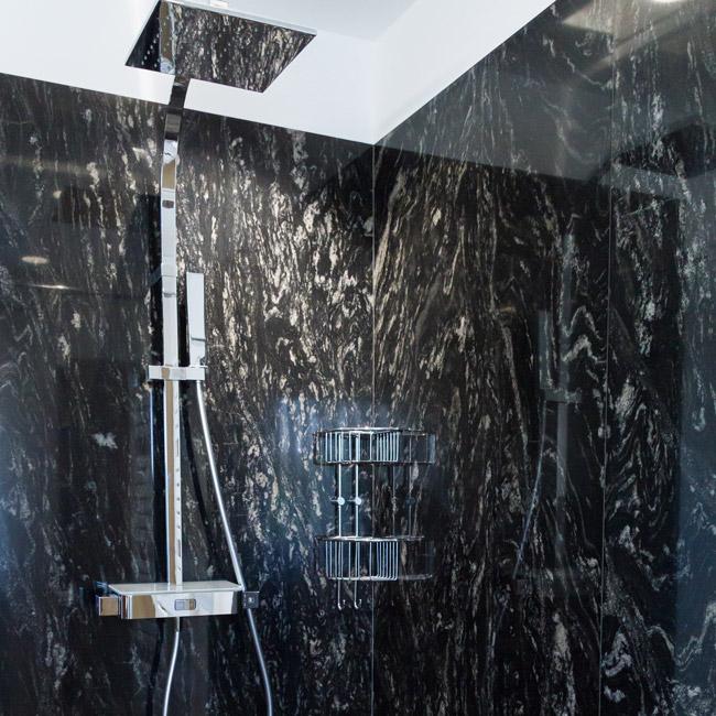 Granit Dusche badezimmer dunkler granit kruschel gmbh